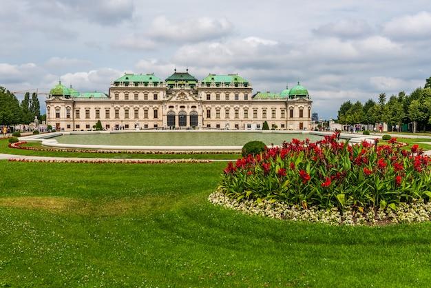 Palácio belvedere em viena