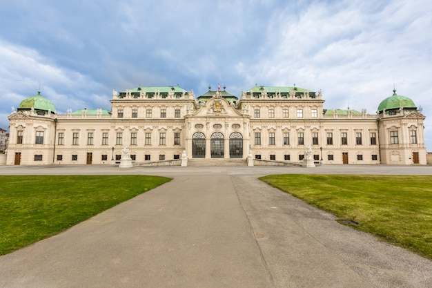 Palácio belvedere em wien, áustria
