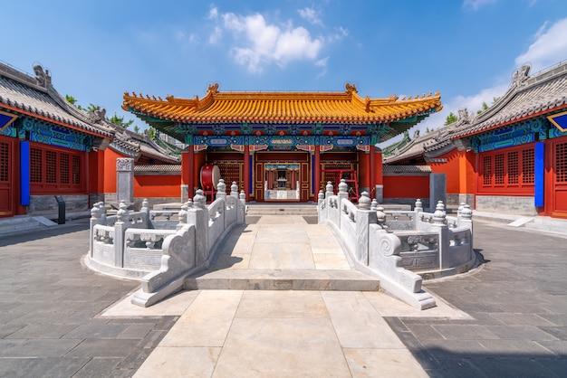 Palácio da arquitetura clássica chinesa