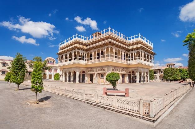 Palácio da cidade em jaipur