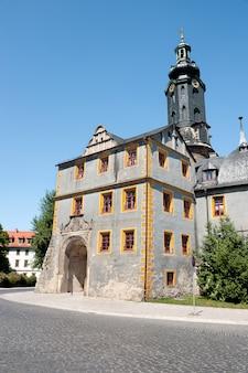 Palácio da cidade em weimar, alemanha