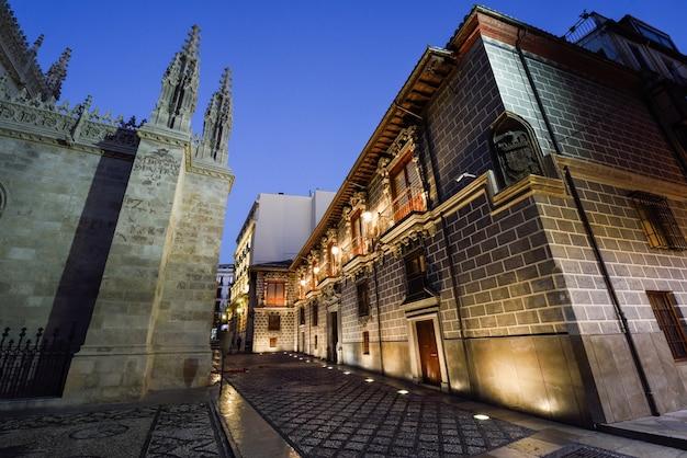 Palácio da madrasa em granada, espanha.