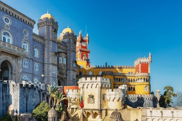 Palácio da pena em sintra, portugal - patrimônio mundial