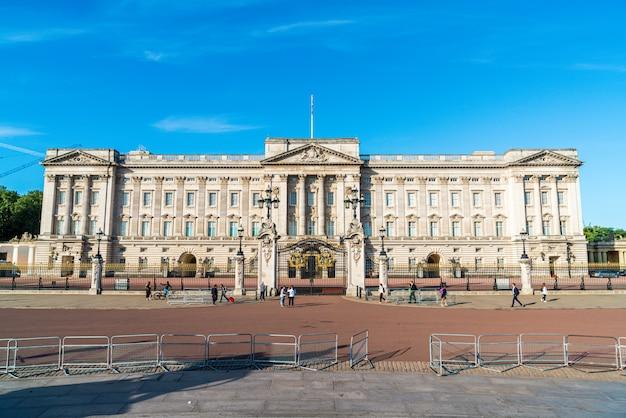 Palácio de buckingham, residência do monarca britânico em londres