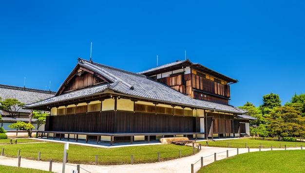 Palácio de honmaru no castelo nijo em kyoto, japão