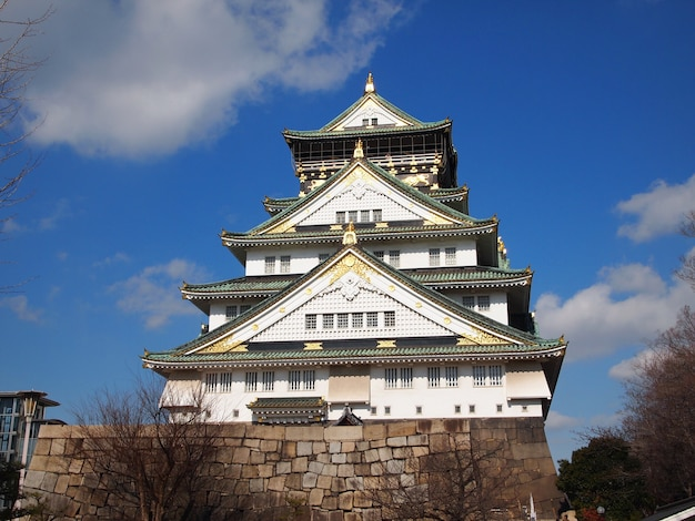 Palácio de osaka, japão