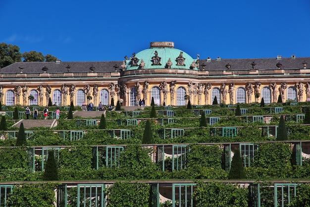 Palácio de potsdam e parque, alemanha