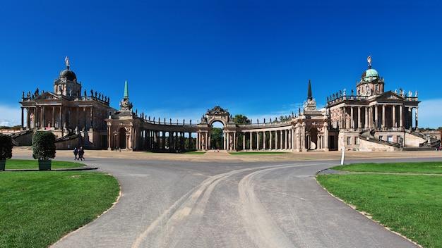 Palácio de potsdam vintage, berlim, alemanha