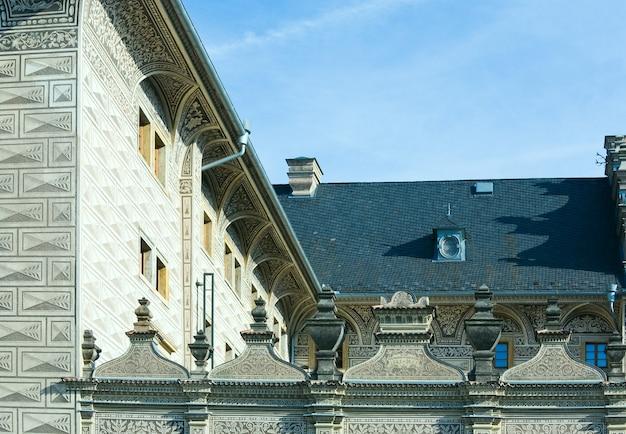 Palácio de schwarzenberg, praga, república tcheca