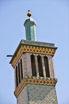 Palácio do golestan na cidade de teerã, irã