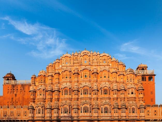 Palácio hawa mahal, jaipur, rajastão