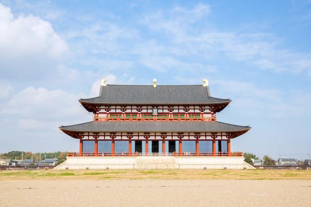Palácio heijo em nara, japão
