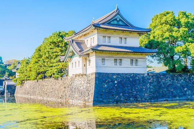 Palácio imperial, em, tokyo, japão