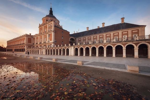 Palácio real de aranjuez, madri, espanha.