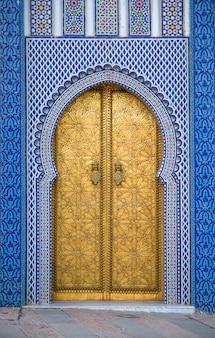 Palácio real de fez, marrocos