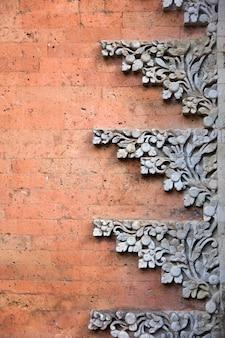 Palácio real de ubud em bali, indonésia