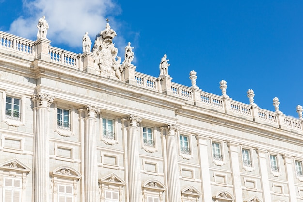 Palácio real, madrid, espanha