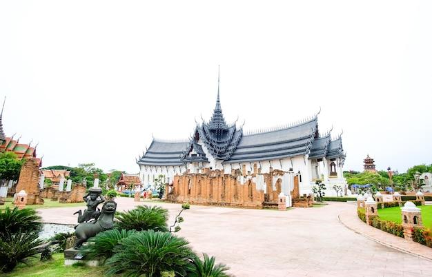 Palácio sanphet prasat, cidade antiga, bangkok, tailândia
