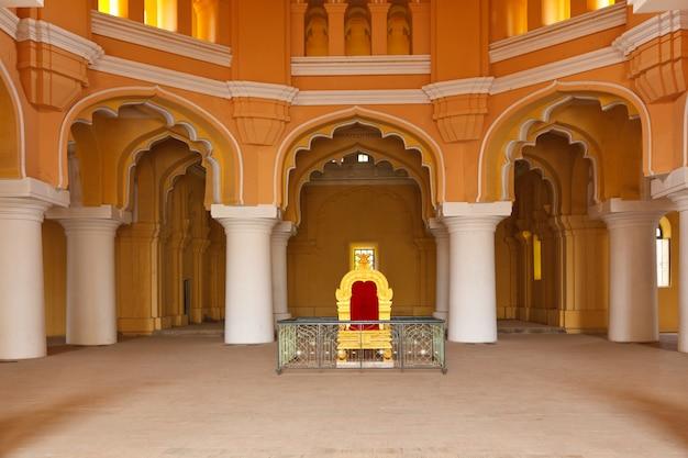 Palácio tirumalai nayal. madurai, tamil nadu, índia