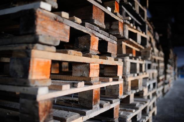 Paletes de madeira