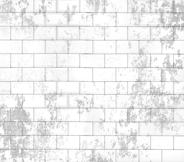 Pálido da parede de tijolo apagados