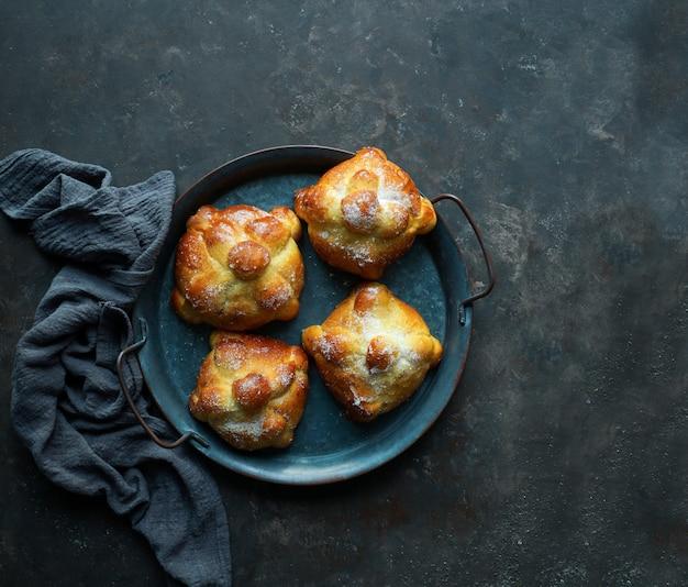 Pan de muerto ou pão dos mortos