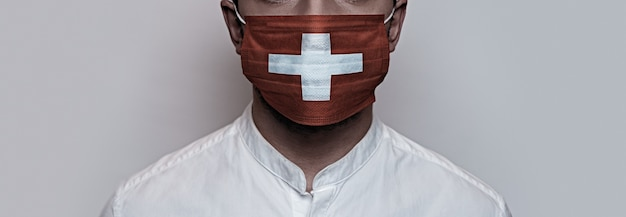 Pandemia do coronavírus. conceito de quarentena do vírus corona, covid-19
