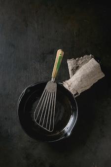 Panela de ferro fundido para panquecas