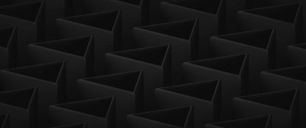 Pano de fundo abstrato escuro de baixo contraste com elementos triangulares