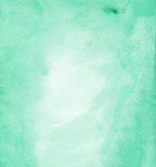 Pano de fundo abstrato esmeralda aquarela