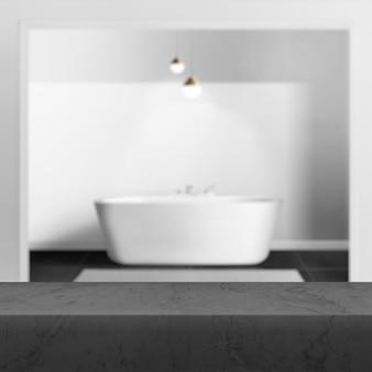 Pano de fundo do produto para banheiro, imagem de fundo interior