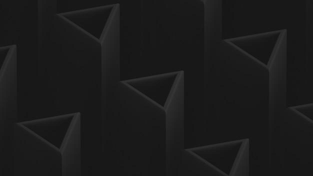 Pano de fundo escuro de baixo contraste. elementos triangulares. elemento de design
