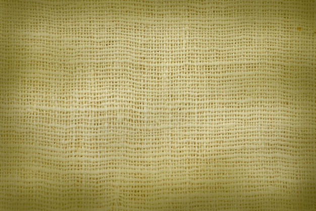 Pano de saco natural texturizado para o fundo.