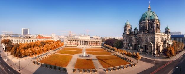 Panorama aéreo do centro de berlim