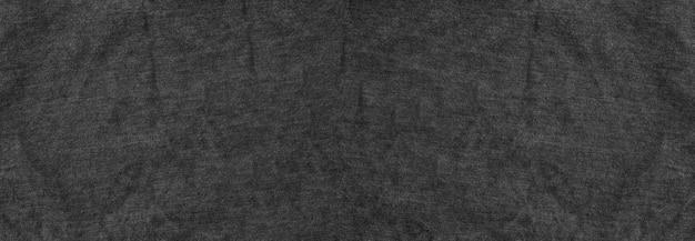 Panorama black fibras de tecido