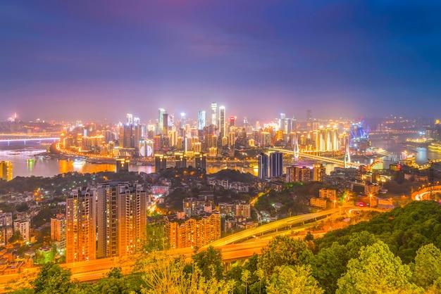 Panorama da china da península escritório cênico chinês