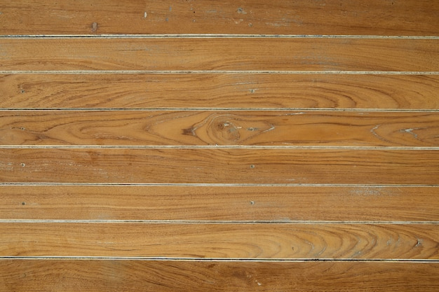 Panorama da parede de madeira vintage marrom