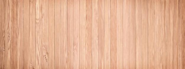 Panorama da textura de madeira clara