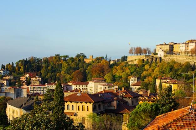 Panorama de bérgamo, itália