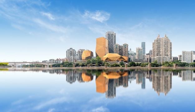 Panorama de liuzhou, guangxi, china
