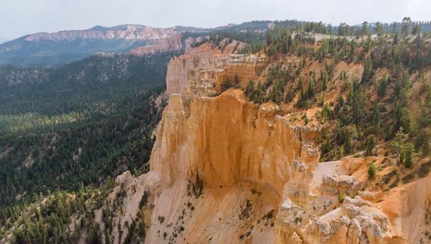 Panorama do parque nacional zion canyon