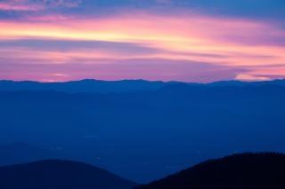 Panorama smoky mountain