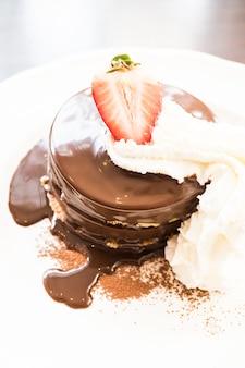 Panqueca de chocolate