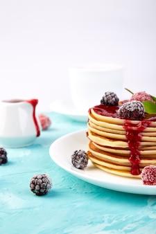 Panqueca no café da manhã