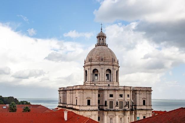 Panteão de portugal em lisboa.