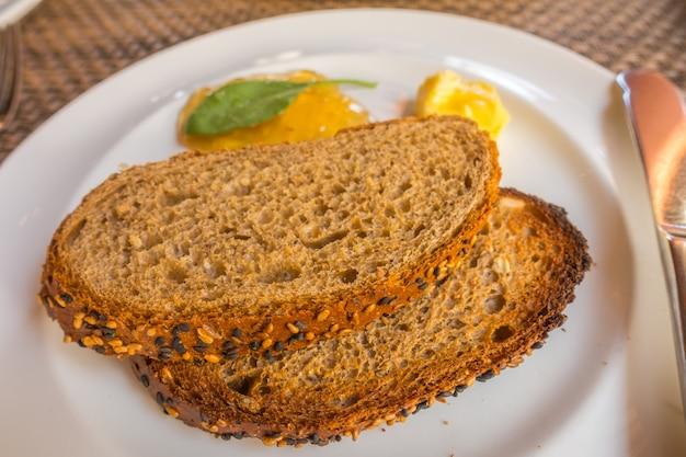 Pão banquete coza serviço de almoço