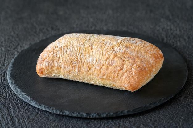 Pão branco italiano