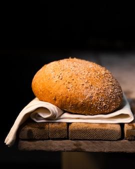 Pão caseiro orgânico de close-up