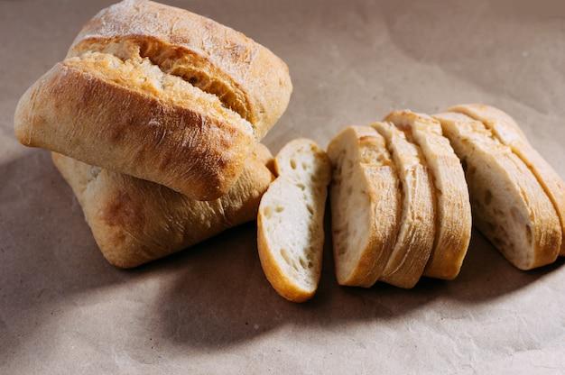 Pão caseiro sem glúten.