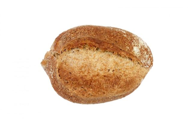 Pão caseiro vista isolada de cima